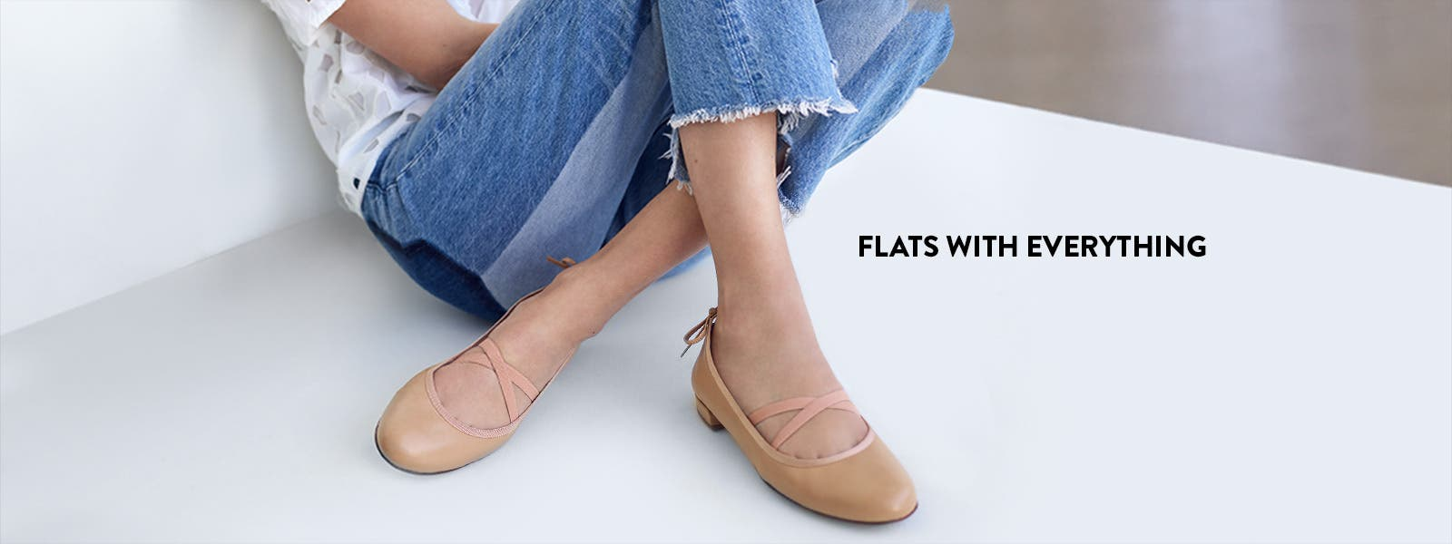Flats with everything.