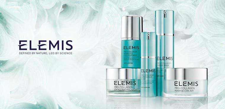 Elemis skin care.