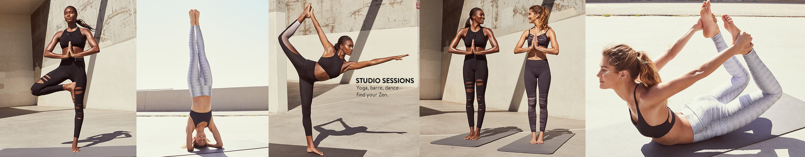 Activewear for yoga, barre, dance and more.