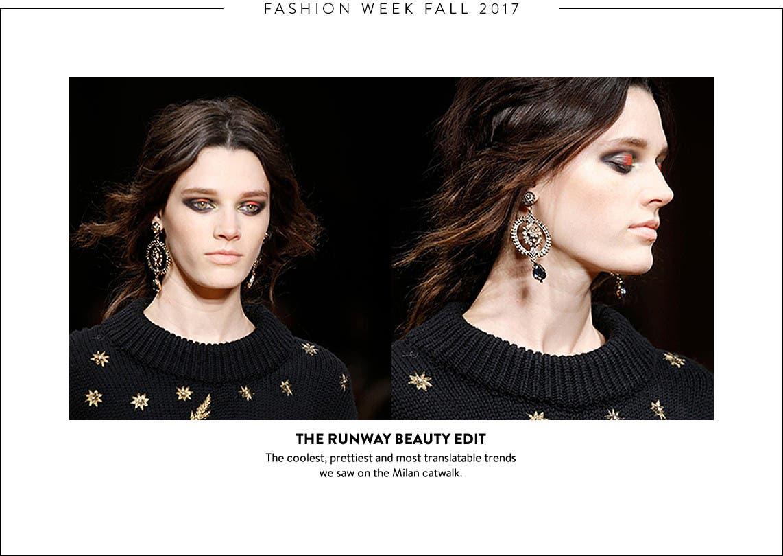 Fashion Week beauty edit: Milan makeup trends.