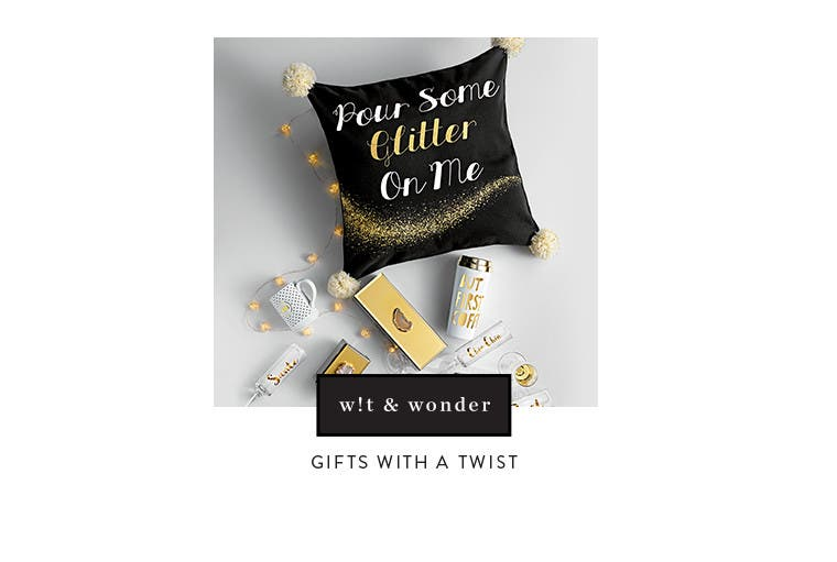 Gifts with a twist.