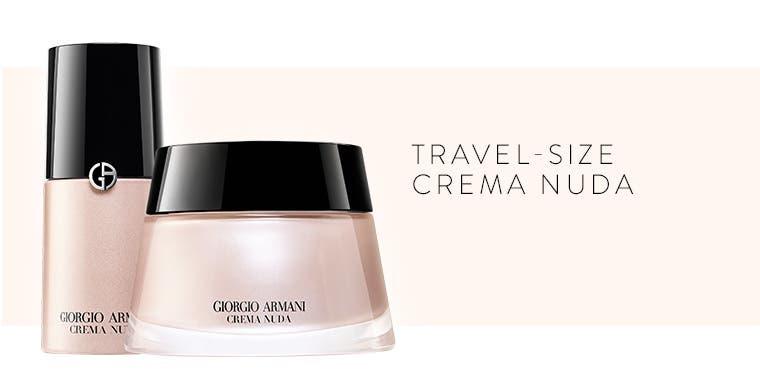 Travel-size Crema Nuda.