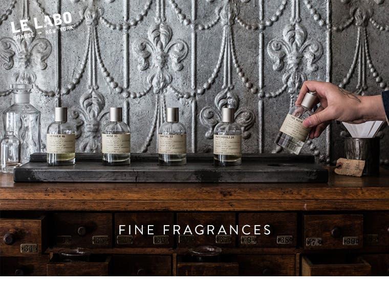 Le Labo fragrances.