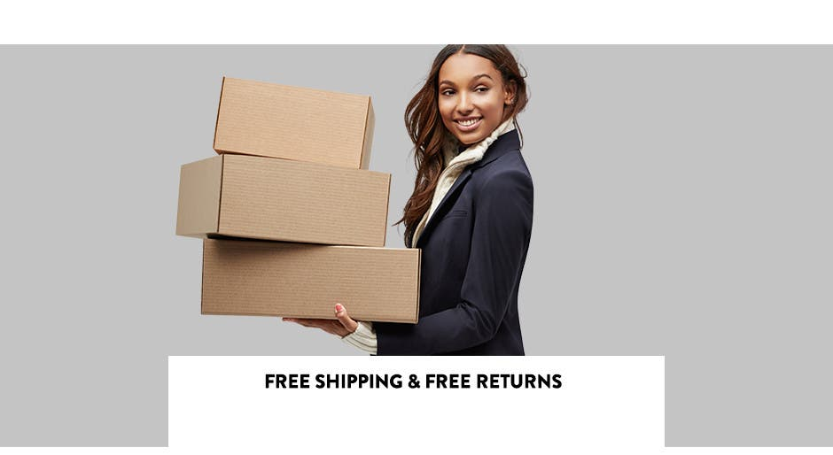 Free Shipping & Free Returns