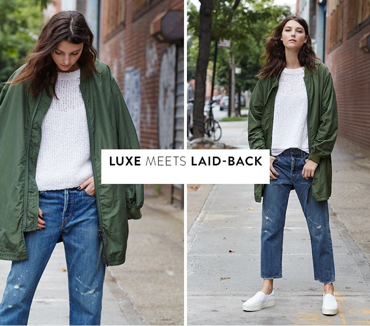 Luxe meets laid-back.