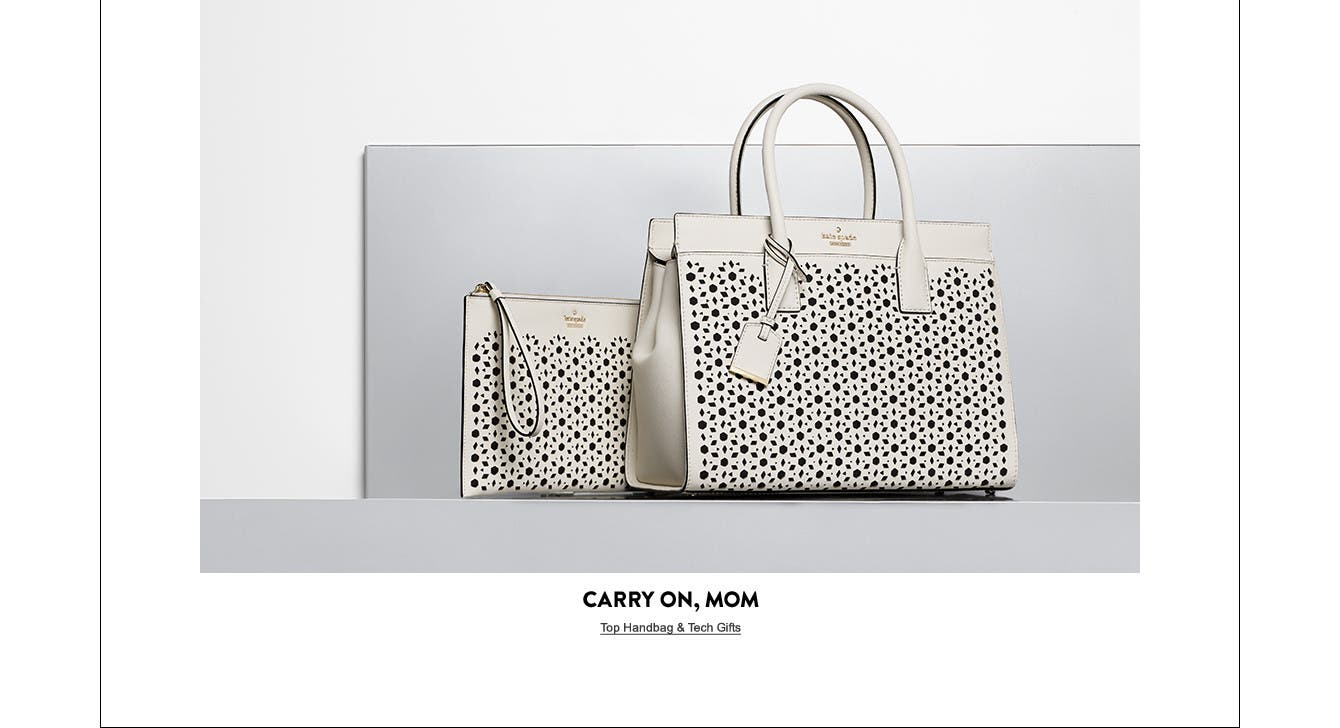 Carry on, Mom: Mother's Day gifts.