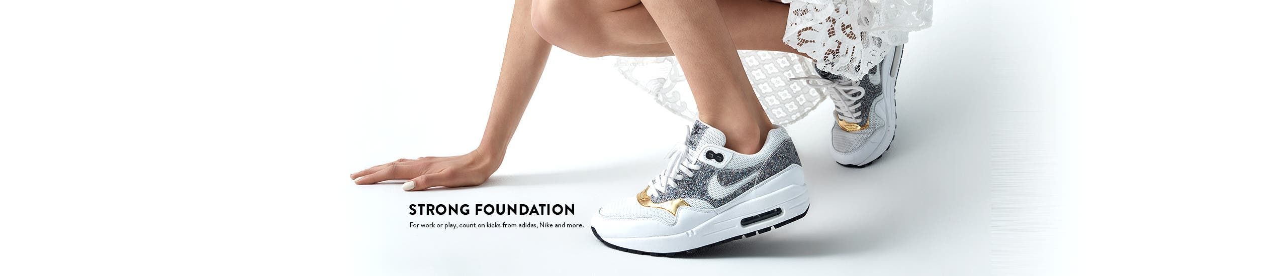 Strong foundation: kicks from Nike, adidas and more.