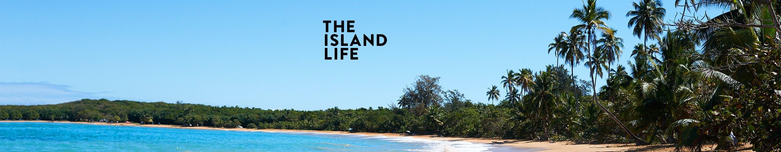 The island life: vacation essentials.