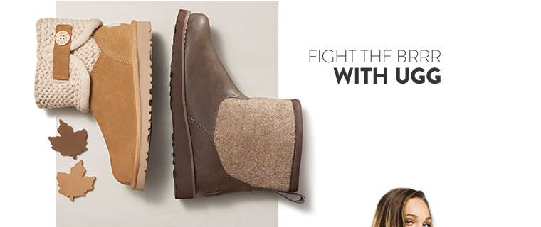 Fight the brrr in UGG boots for kids and babies.