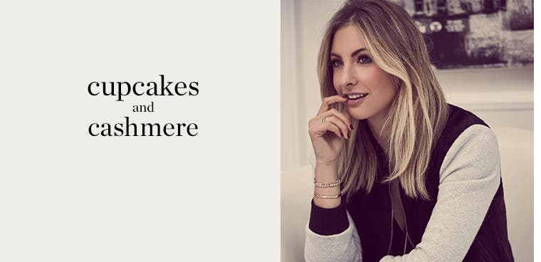 cupcakes and cashmere.