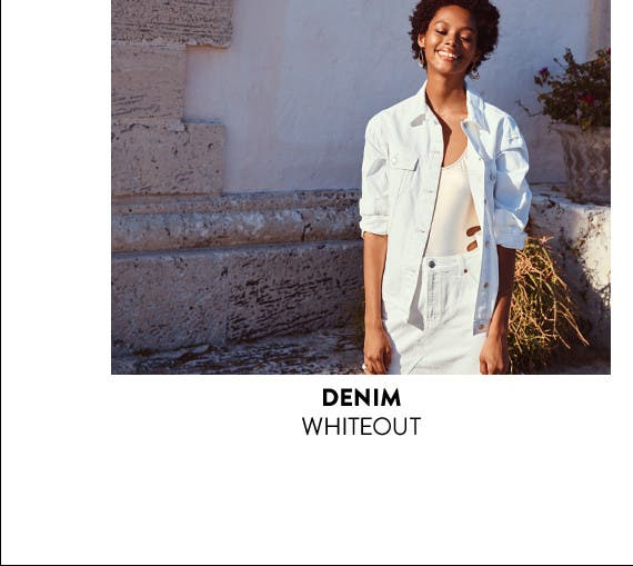 White denim is now trending.