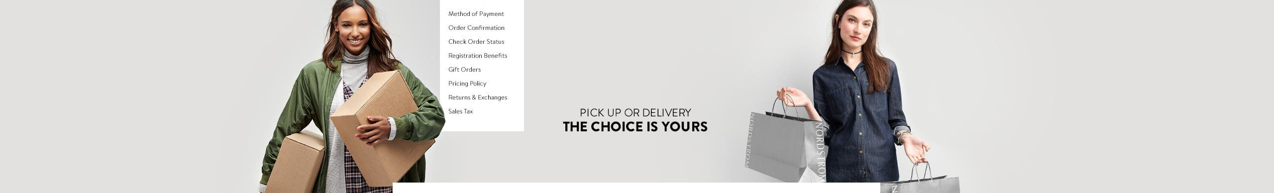 Pick Up or Delivery. The Choice Is Yours.