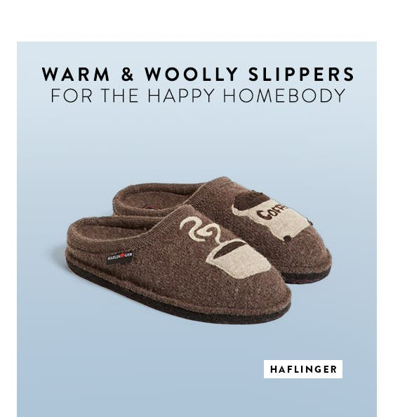 Slippers for women, men and kids from Haflinger and more.