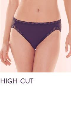 High-cut panties.