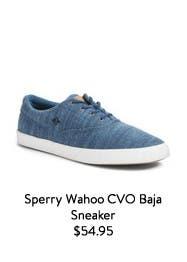 Sperry Wahoo CVO Baja Sneaker.