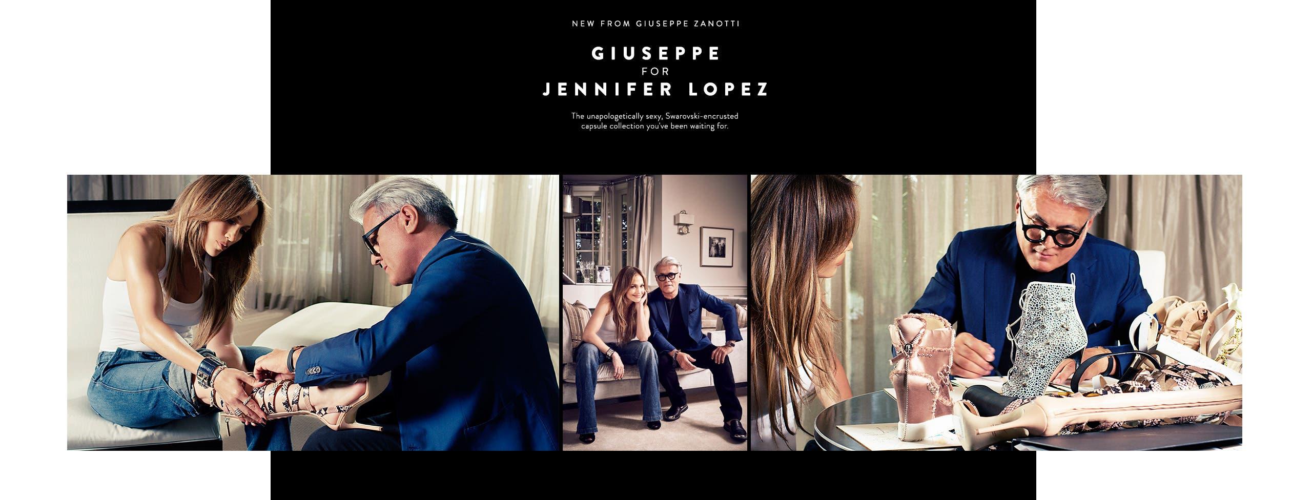 New designer shoes from Giuseppe Zanotti: Giuseppe for Jennifer Lopez.