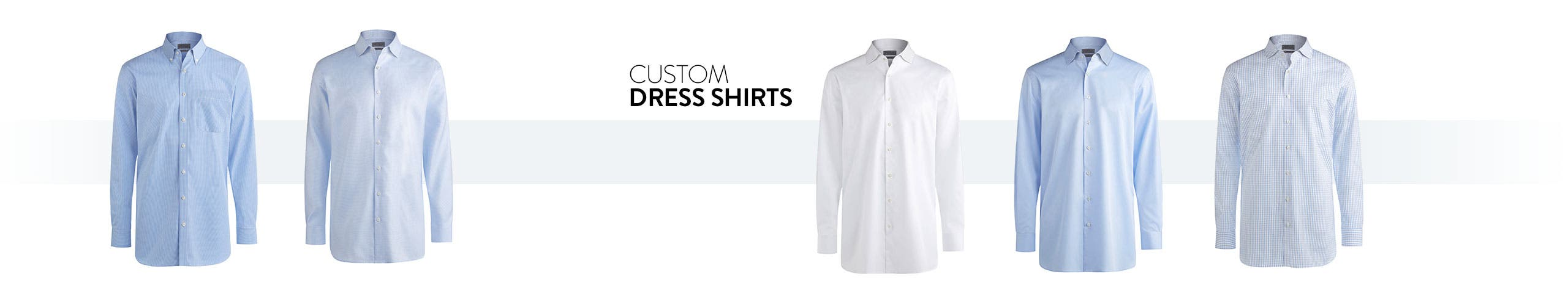 Now online: men's custom dress shirts.