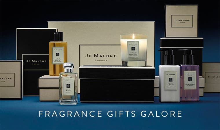 Fragrances gifts galore from Jo Malone London.