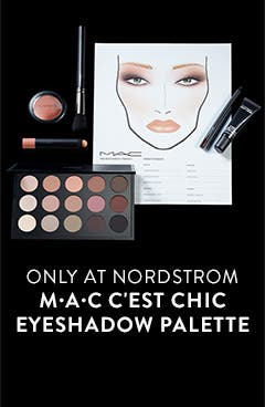 Only at Nordstrom: M•A•C C'est Chic Eyeshadow Palette.