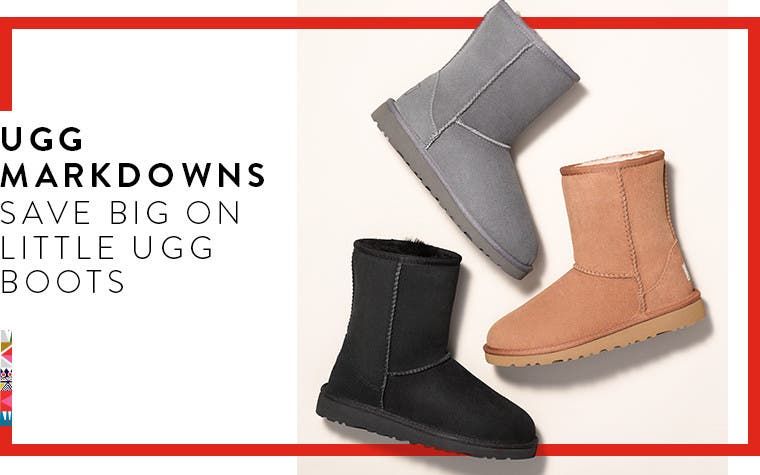 UGG markdowns for kids.