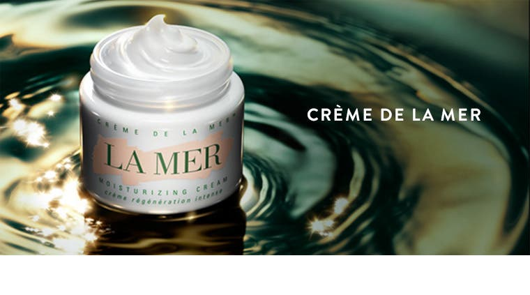 Crème de la Mer moisturizer.