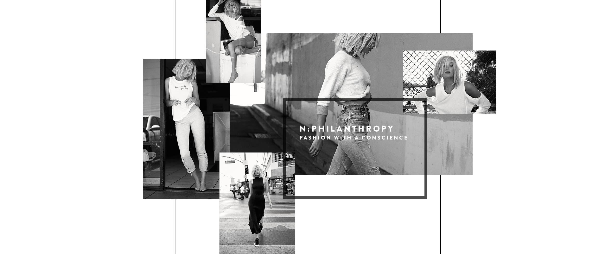 n:Philanthropy women's clothing.