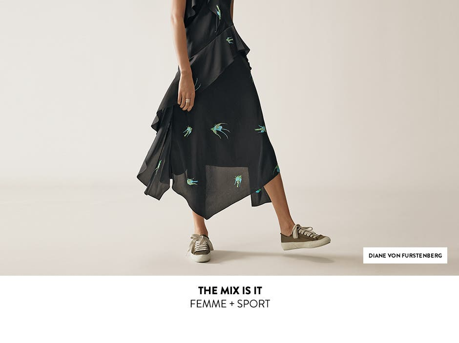 The mix is it: femme plus sport.