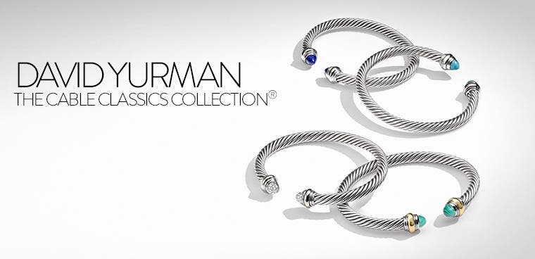 David Yurman cable classics collection.