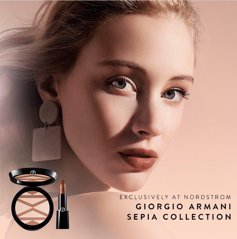 Nordstrom exclusive: Giorgio Armani Sepia collection.