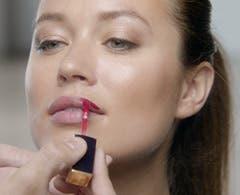 Estée Lauder makeup.