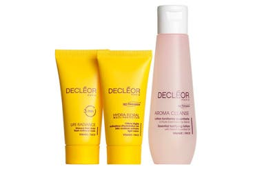 Decléor skin care gift with purchase.