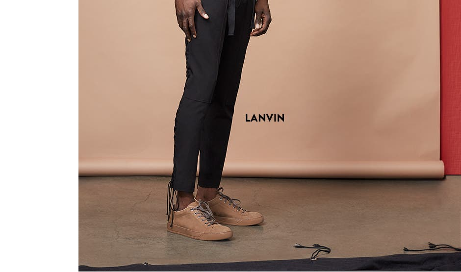 Lanvin for men.