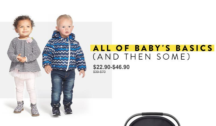 All of baby's basics (and then some). Anniversary Sale baby clothing.