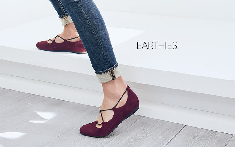 Earthies comfort flats.