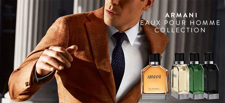Giorgio Armani Eaux Pour Homme Collection.