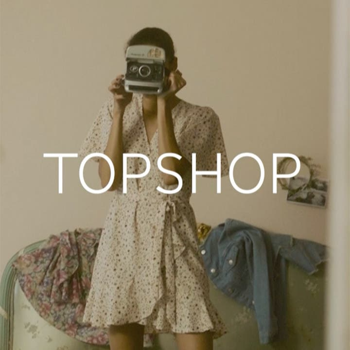 Topshop + British Vogue.