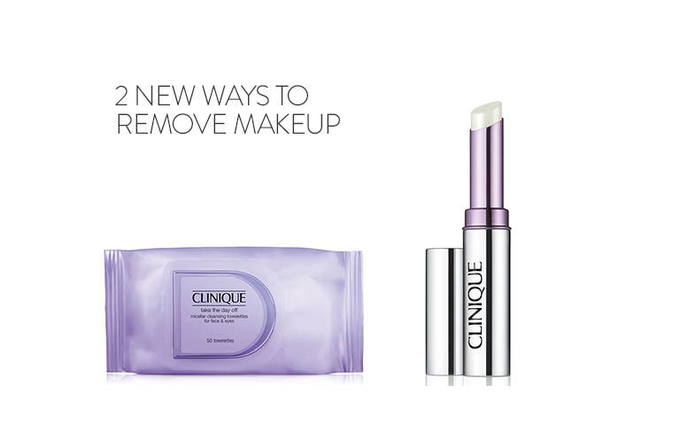Two new ways to remove makeup.