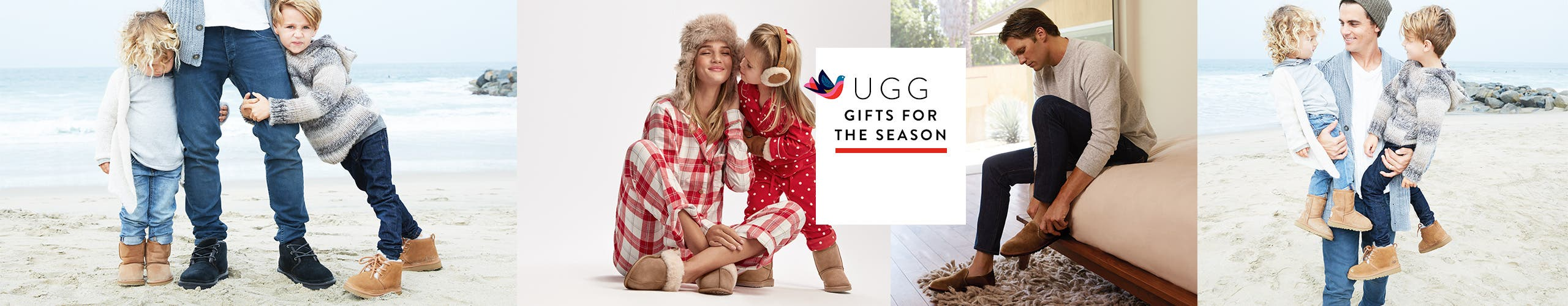 UGG shoes: gifts for the whole family.