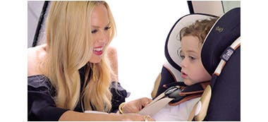 Play video: Rachel Zoe on her baby gear collection for Quinny and Maxi-Cosi.