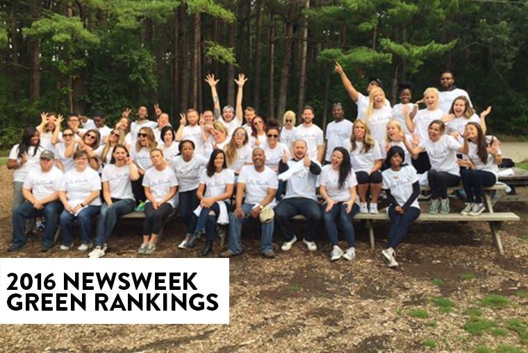 2016 Newsweek Green Rankings.