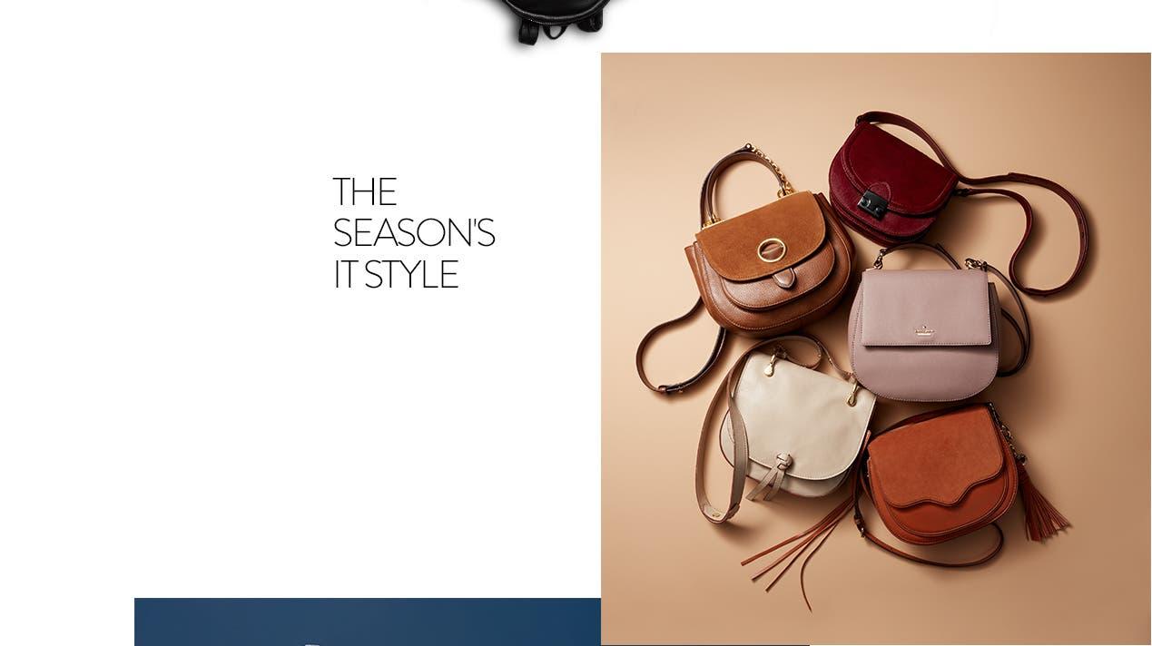 Giddy up: saddle bags.