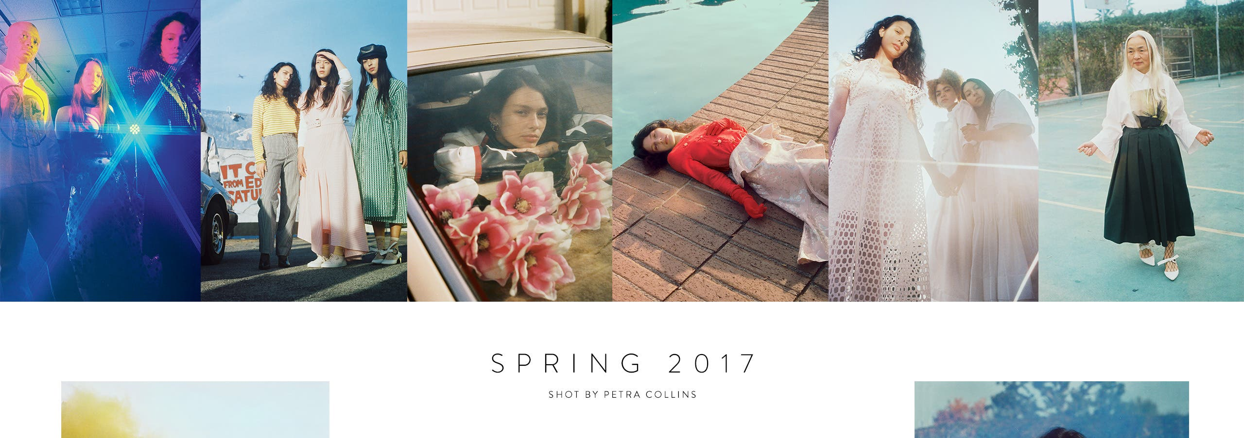 Our new spring campaign was shot by Petra Collins and features beautiful, inspiring people of all ages.