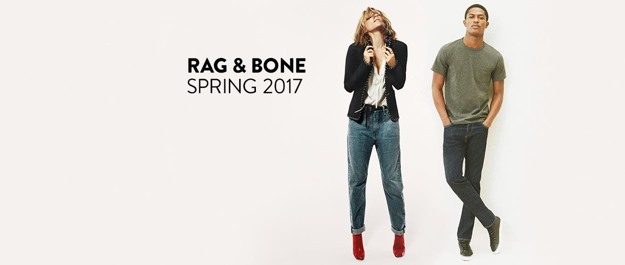 rag & bone clothing for men and women.