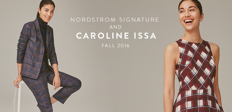 Nordstrom Signature and Caroline Issa fall 2016 collection.