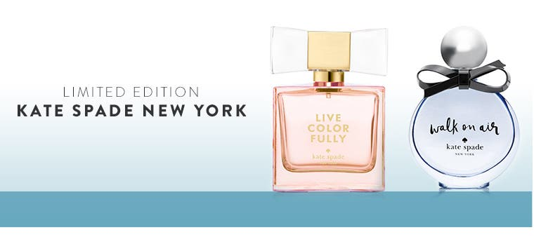 Limited-edition kate spade new york fragrances.