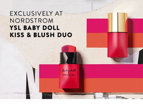 Exclusively at Nordstrom: Yves Saint Laurent Baby Doll Kiss and Blush Duo.