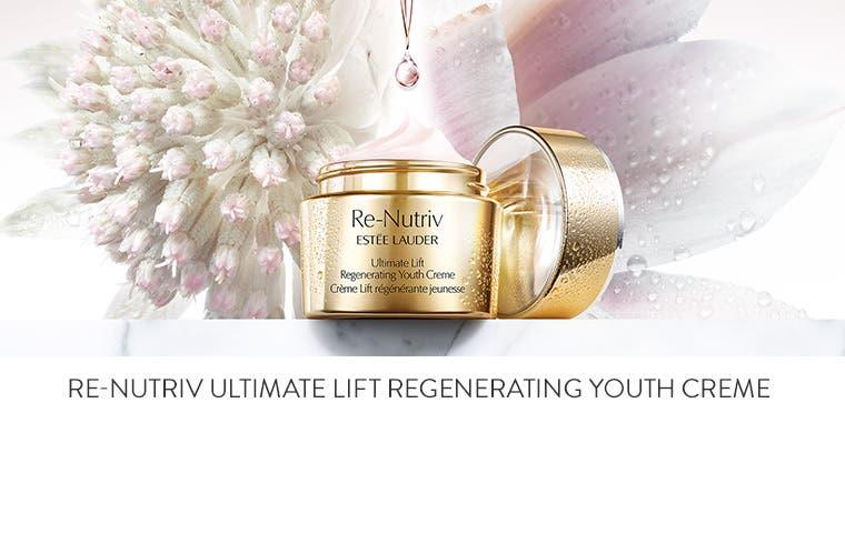 Estée Lauder Re-Nutriv Ultimate Lift Regenerating Youth Crème.