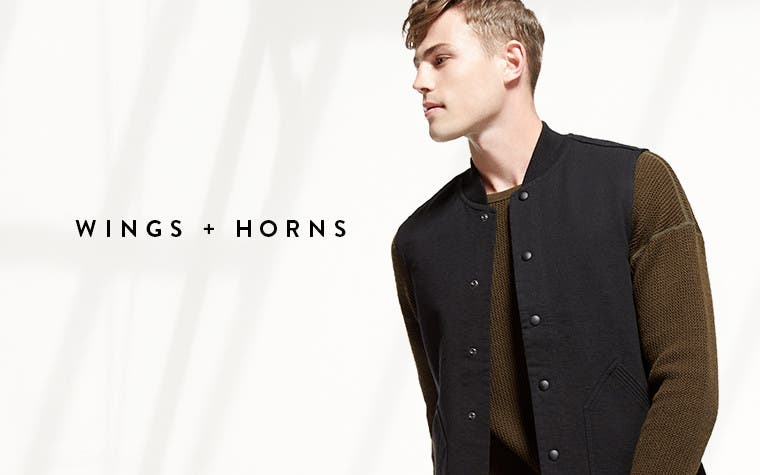 Wings + Horns