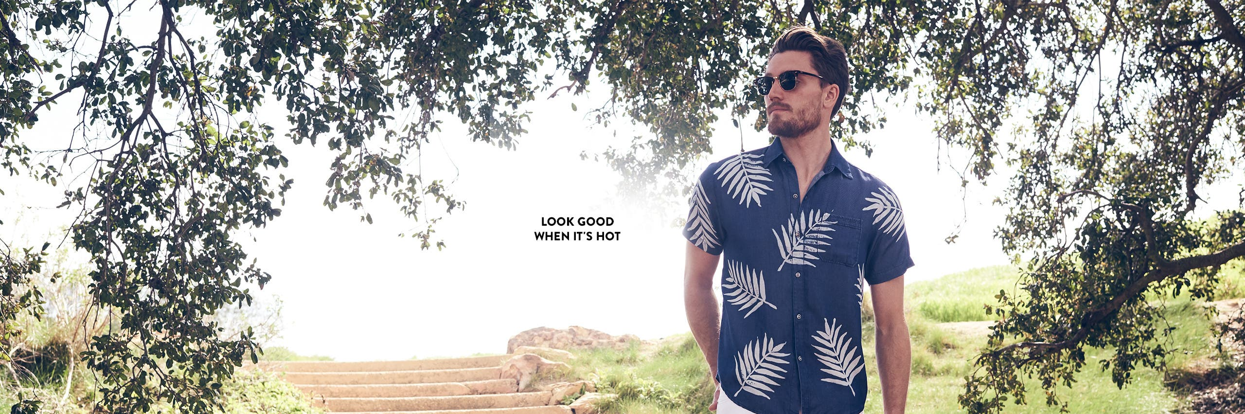 Look good when it's hot: summer-ready styles for men.