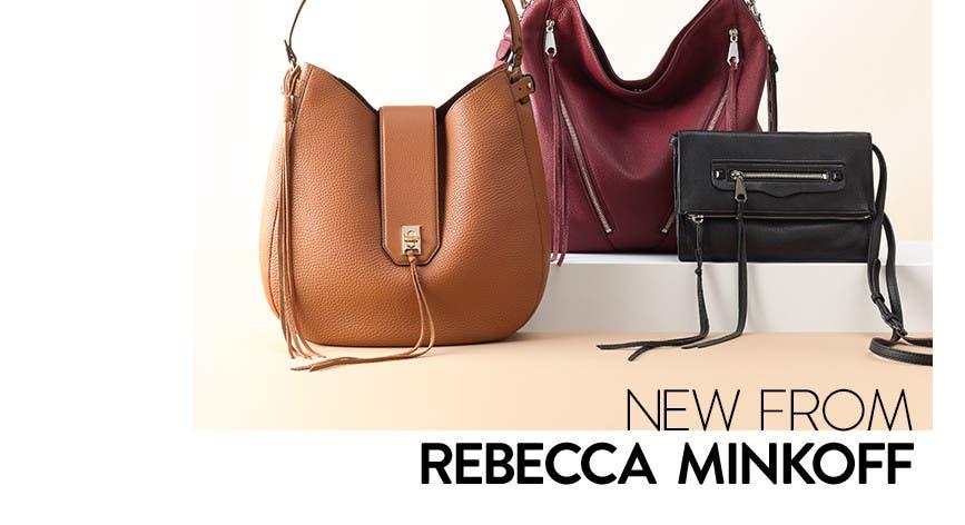 New Rebecca Minkoff handbags.